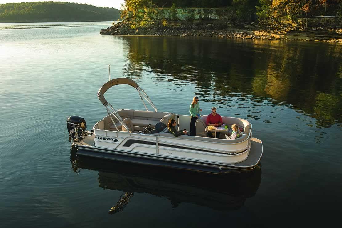 Ranger Reata RP220C Cruise Pontoon - Mercury Four Stroke