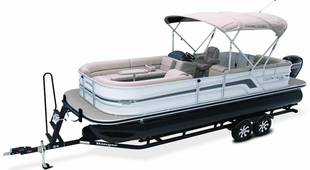 Ranger Pontoon Boats - RP220C Cruise