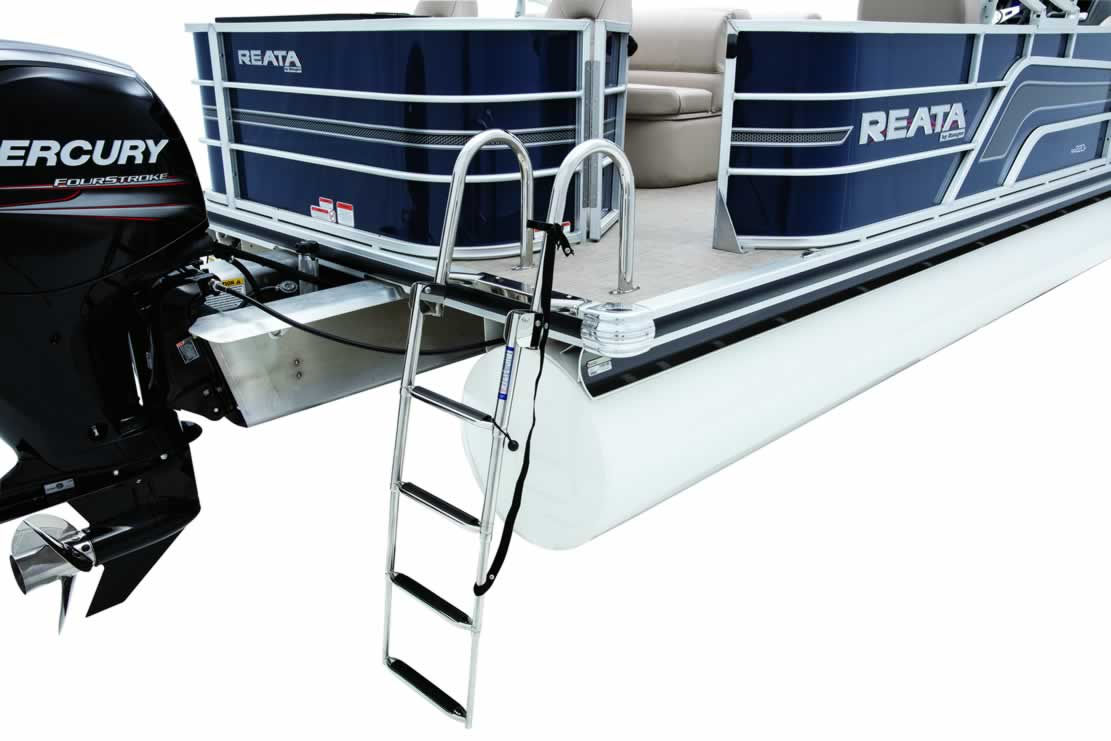 Ranger Reata RP220F Fishing Pontoon - Mercury Four Stroke