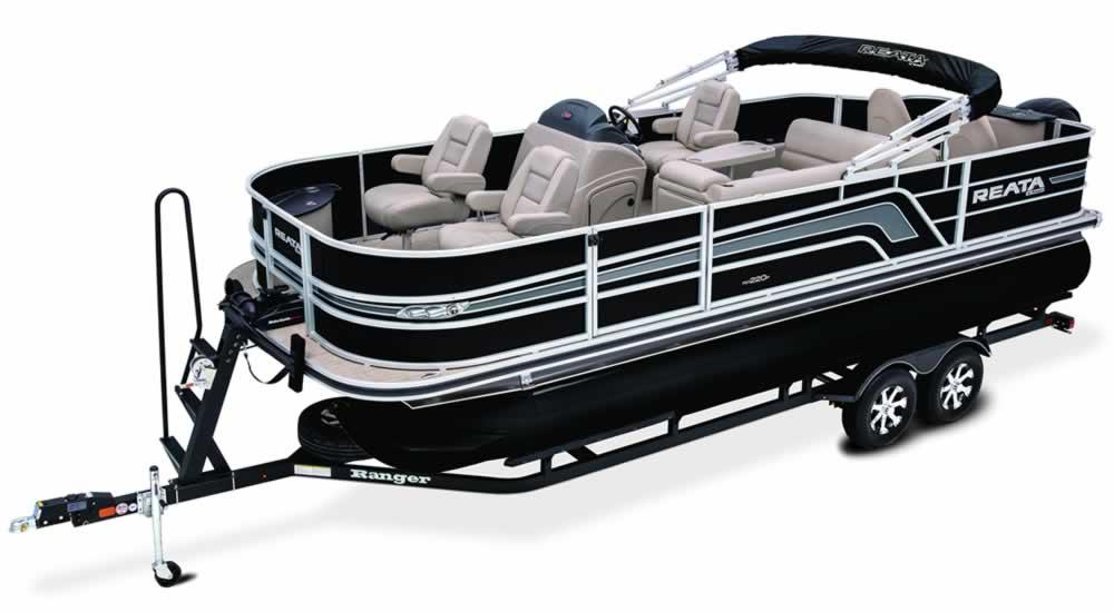 Ranger Reata Pontoon Boats - Reata RP200F Fish