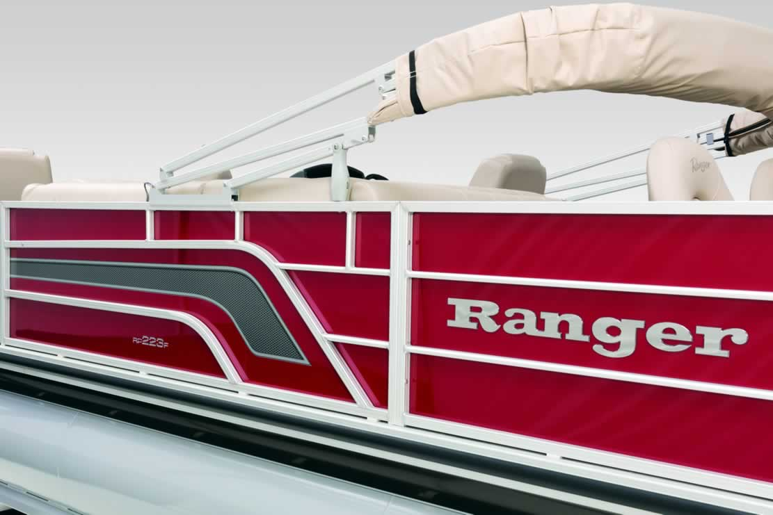 Ranger Reata RP223F Fish Triple-Tube Pontoon