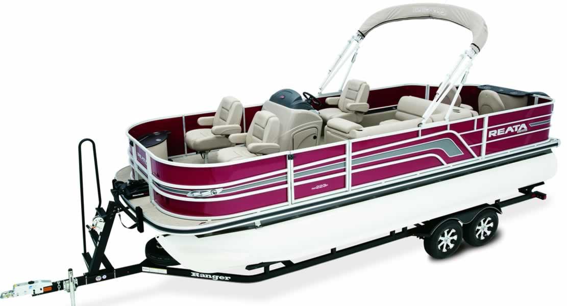 Ranger Pontoon Boats - Reata RP200F Fish