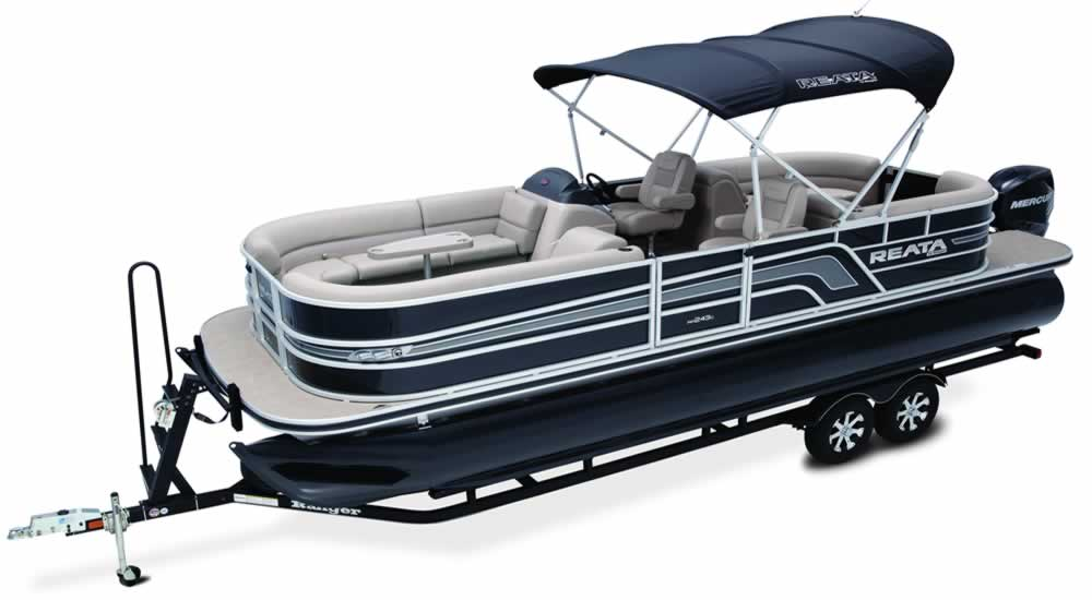 Ranger Pontoon Boats - RP200C Cruise