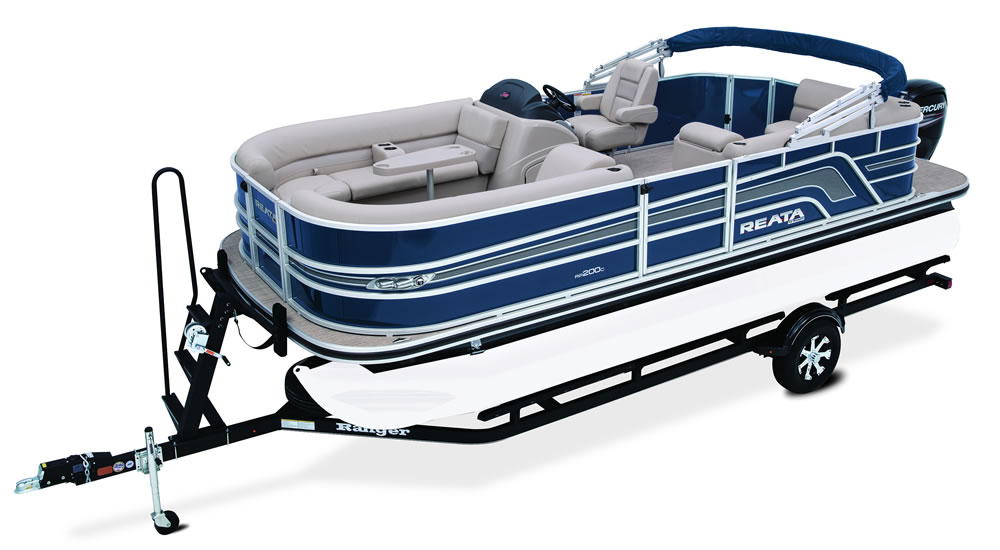 Ranger Pontoon Boats RP200C Cruise