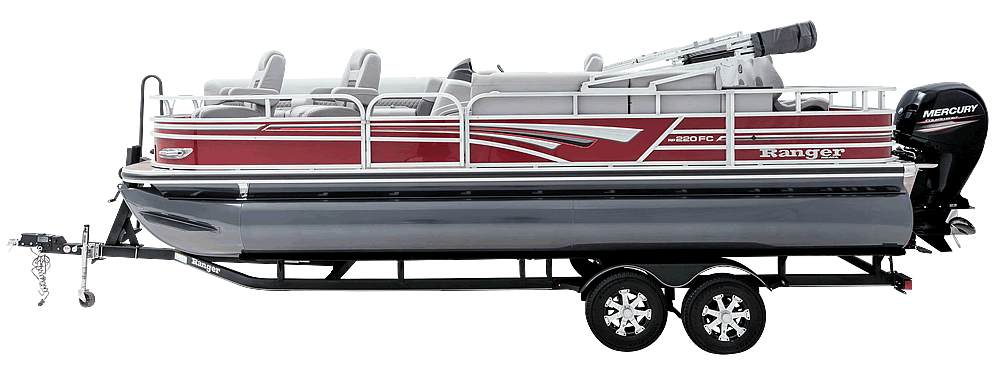 NEW Ranger RP220FC Fish-Cruise Pontoon