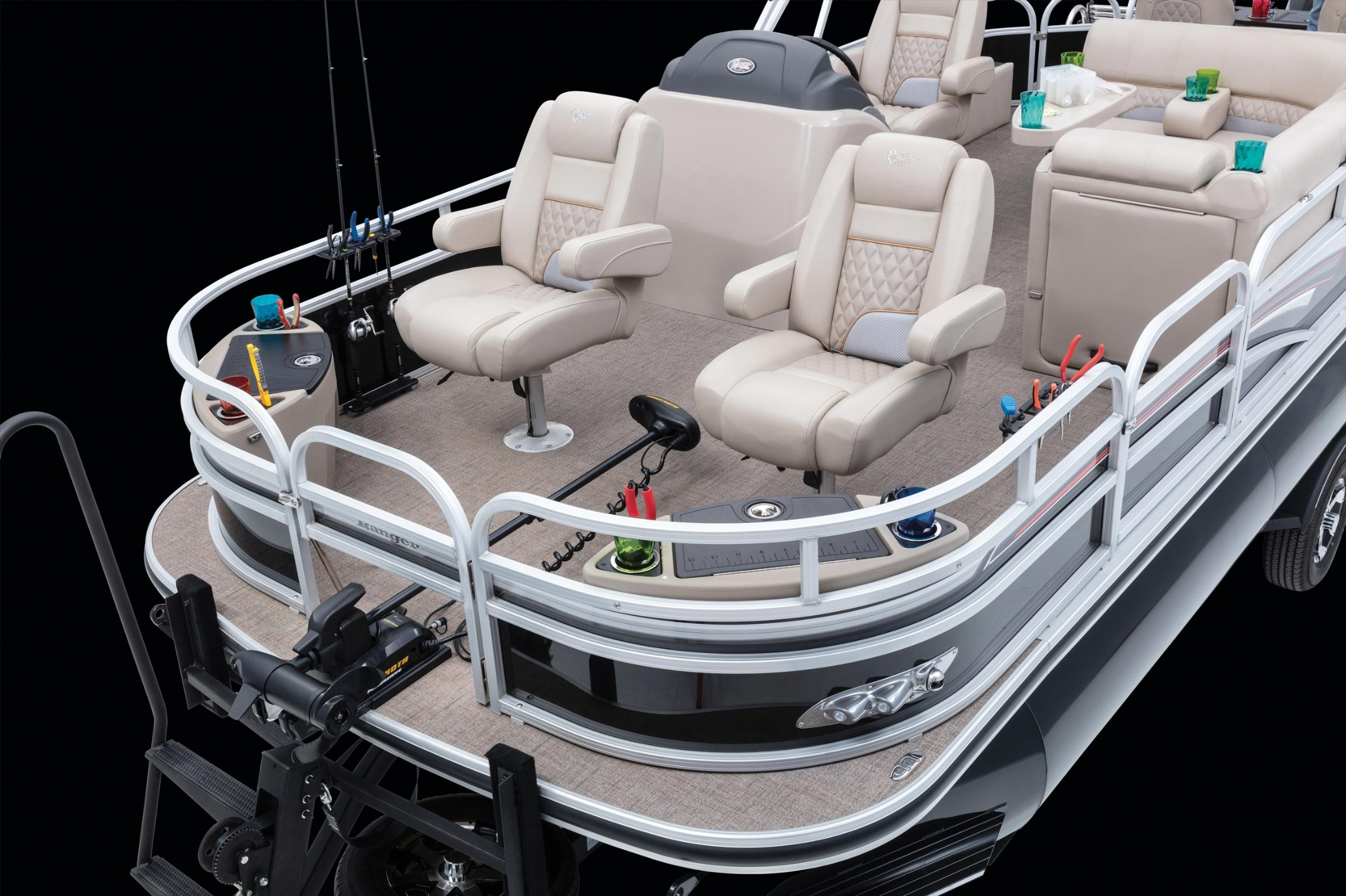 Ranger RP223F Triple Tube Fish Pontoon