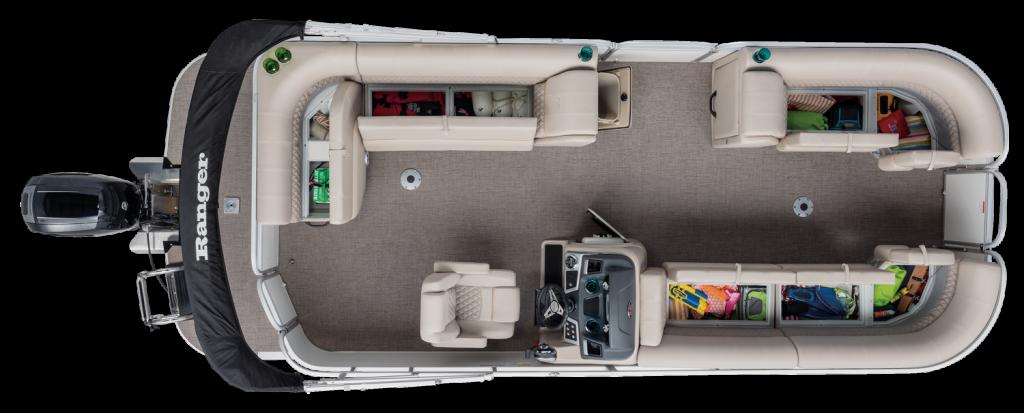 Ranger RP220C Reata Cruise Pontoon