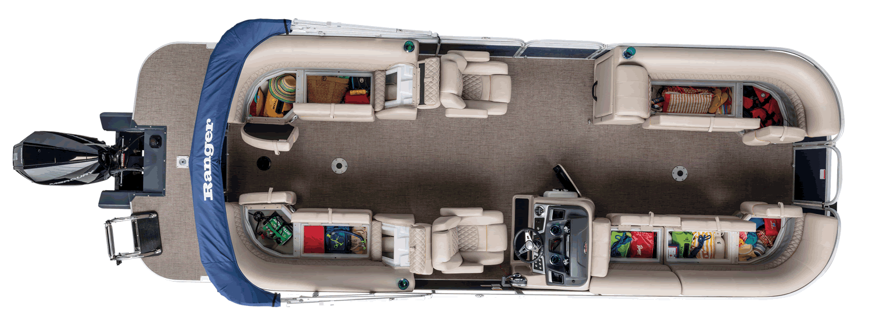 Ranger Reata RP243C Cruise Pontoon