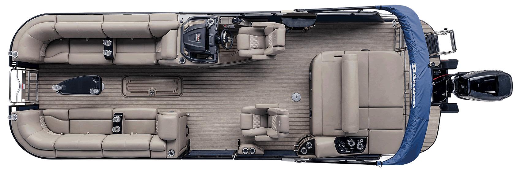 Ranger Reata 2500LS Luxury Pontoon