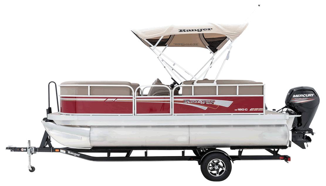Ranger RP180C Classic Series Cruise Pontoon